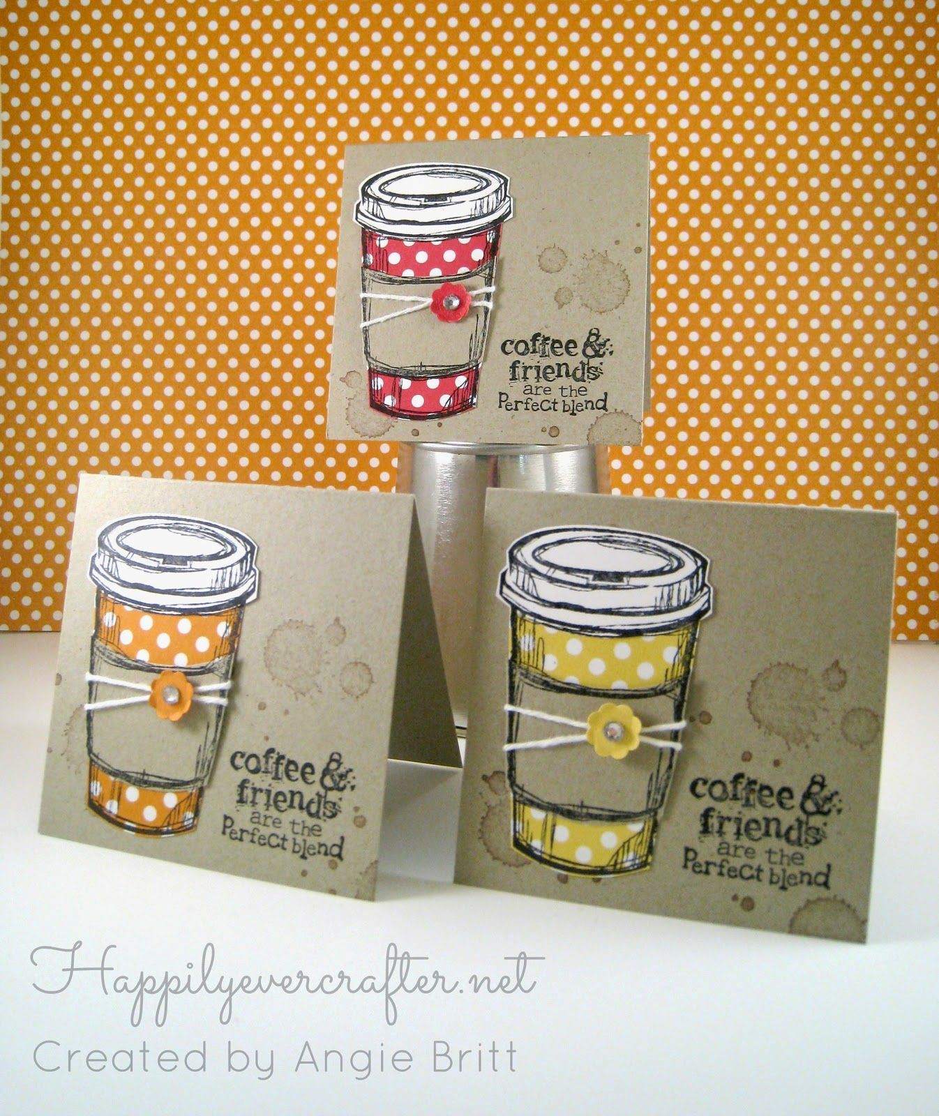 happily ever crafter perfect blend stampin up demonstrator