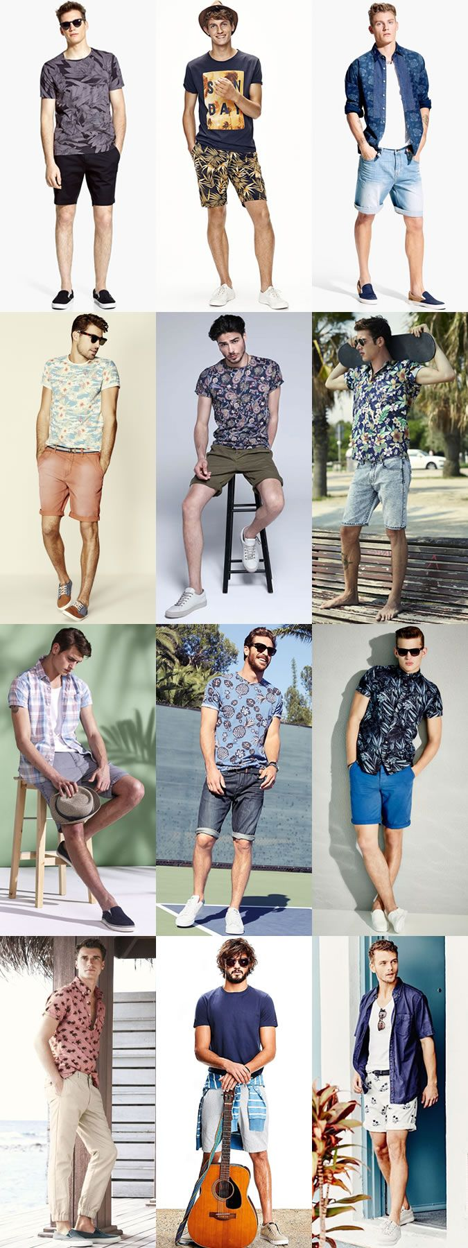 4a2eedc87a Men's Ibiza Summer Holiday Outfit Inspiration Lookbook | Summer ...