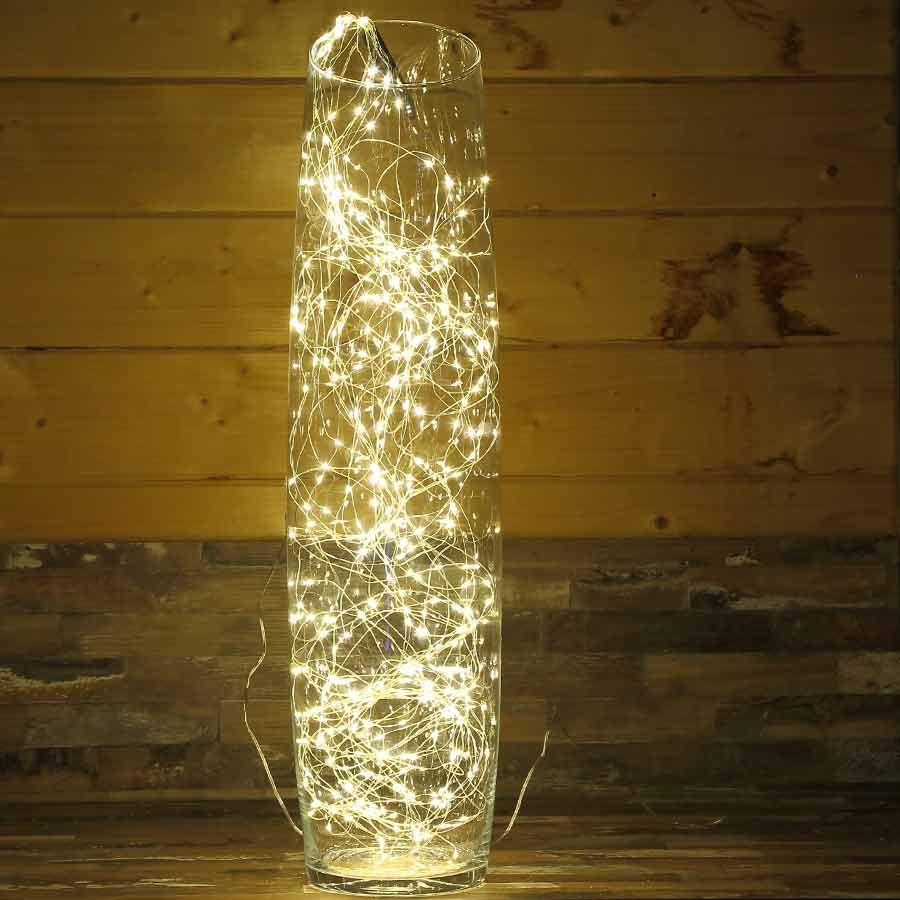 Lichterschweif mit 12 LED-Strängen und insgesamt 1,5 Meter Länge ...