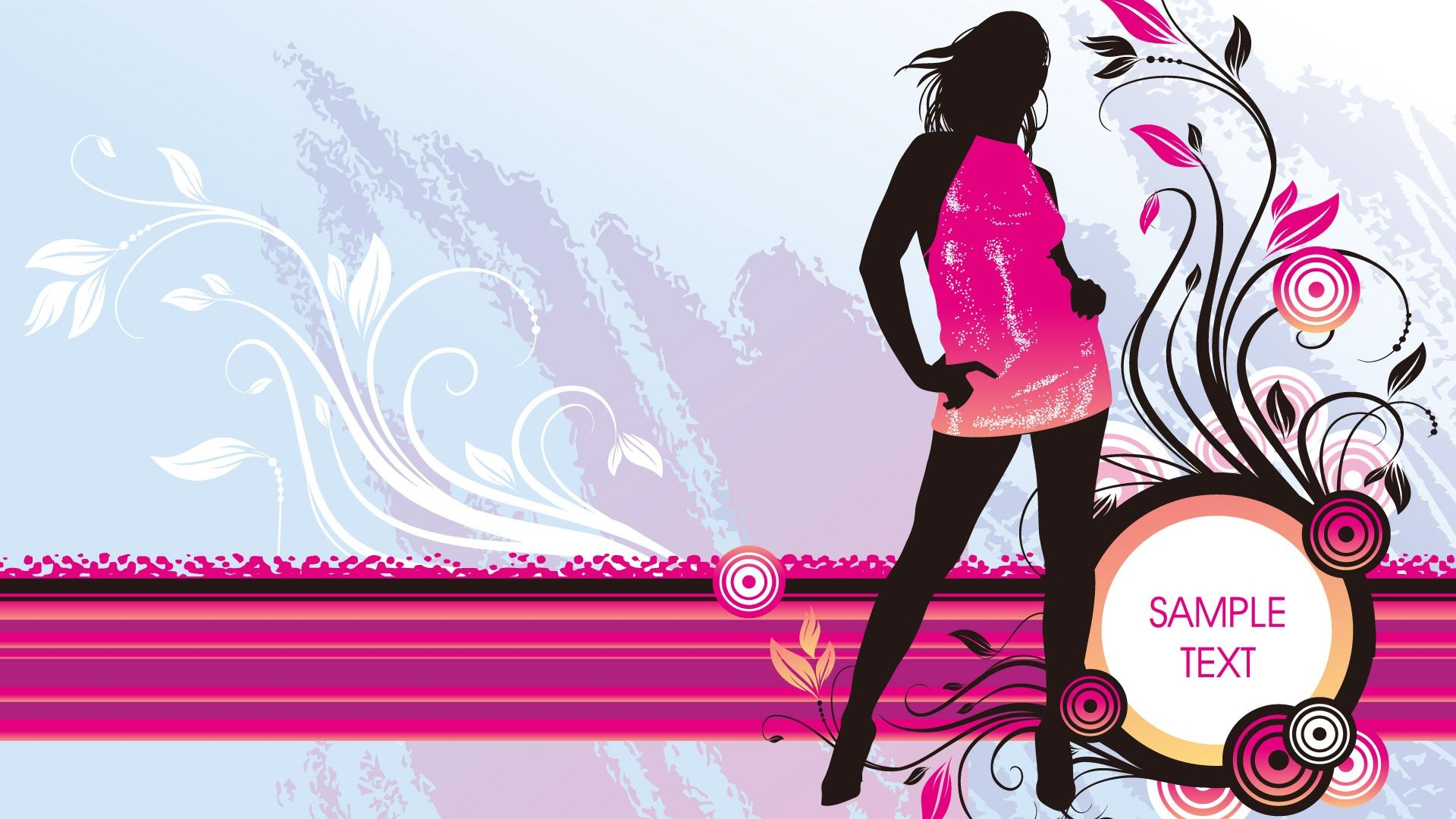 Vector Girl Wallpaper Fashion Wallpaper Art Wallpaper Girl Wallpaper
