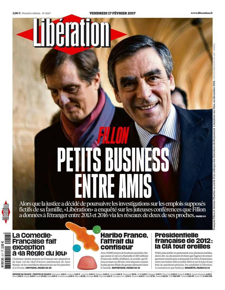 Libération Vendredi 17 Février 2017 N° 11117 (avec
