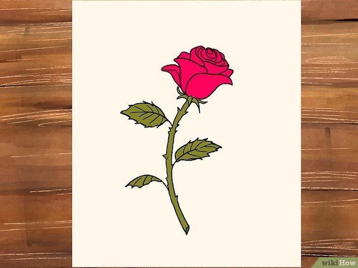Wow 24 Gambar 2 Dimensi Bunga Mudah 3 Cara Untuk Menggambar Bunga Mawar Wikihow Gambar Bunga Matahari Hitam Putih Simple Gambar Di 2020 Cara Menggambar Sketsa Bunga