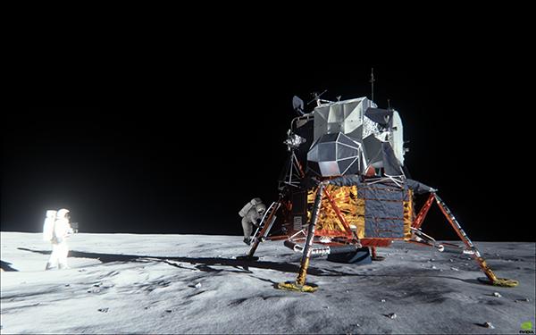 Download Apollo 11 Lunar Landing Demo Demo | NVIDIA Cool Stuff
