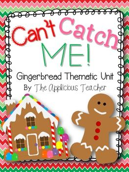 Gingerbread Man Activities Thematic Unit Gingerbread Man