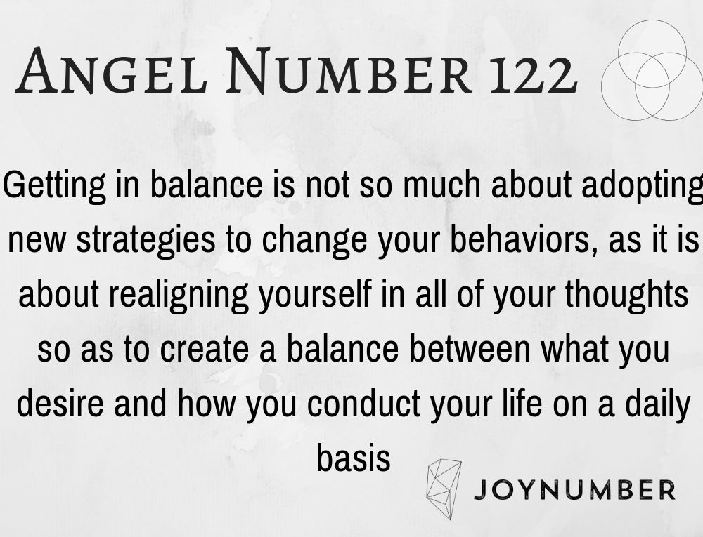 122 Angel Number Wonderful Things Are Happening Behind The