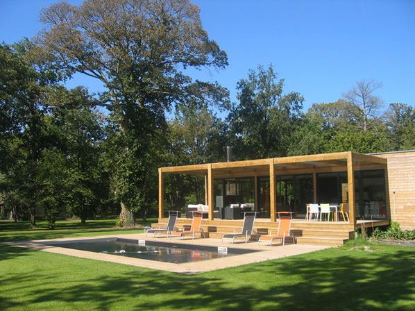 idée maison en bois d\'architecte   Maison bois   Pinterest ...