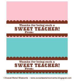 Sweet metel moments free printable teacher appreciation gift sweet metel moments free printable teacher appreciation gift sweet teacher negle Image collections