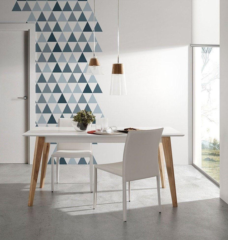 Silla Minimal Naos Blanca Muebles Estilo N Rdico Pinterest  # Muebles Nordicos