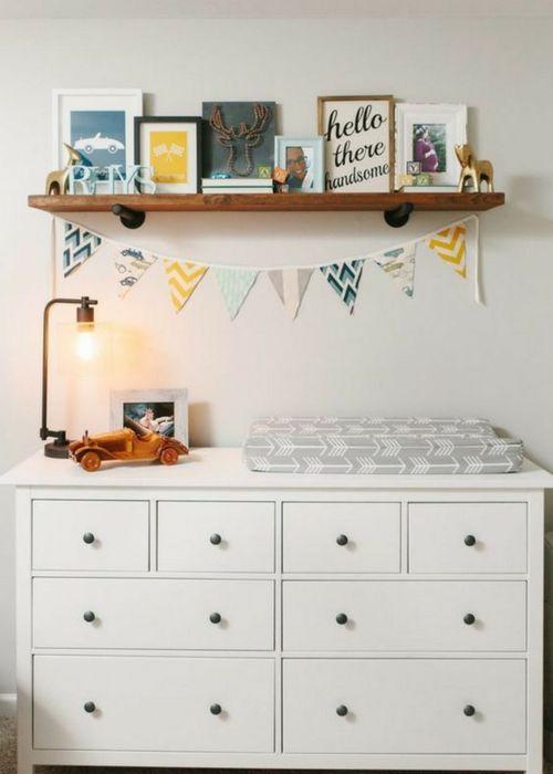 baby nursery shelf ideas