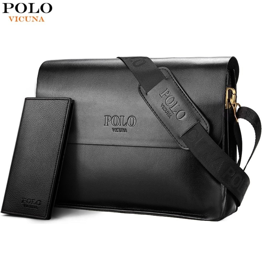 Vicuna Polo Leather Men S Business Bag Price 22 99 Free Shipping Crossbodybags Mens Leather Bag Crossbody Bags For Travel Man Bag