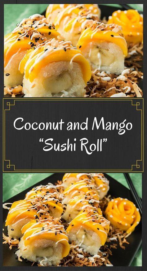 Coconut and Mango Roll - FeedingTheFiya