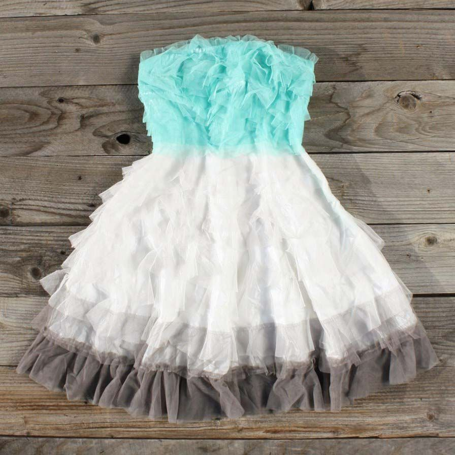 tiers & tulle party dress