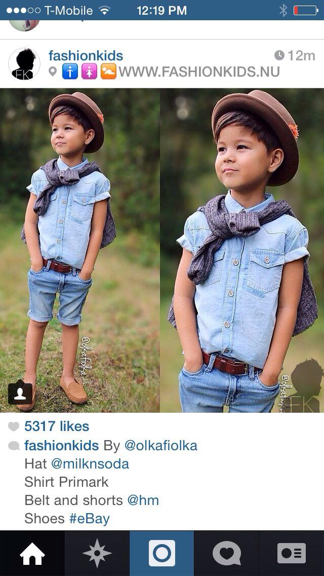 foto de Pin by Daisy Barron on Ideas for Azriel Kids outfits