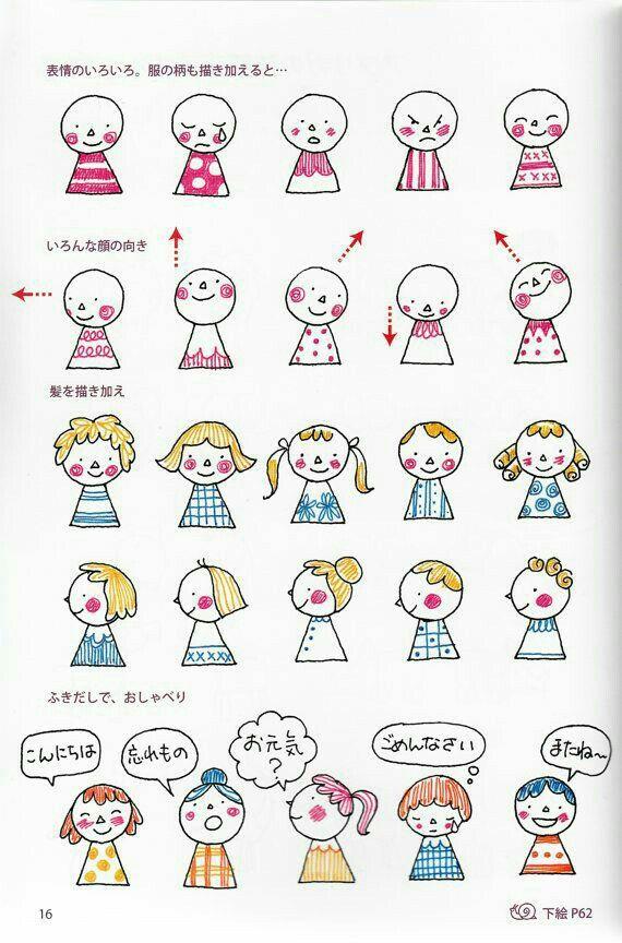 Ilustraciones おしゃれまとめの人気アイデア Pinterest Ngan Vũ かわいいイラスト かわいい イラスト 手書き 簡単スケッチ