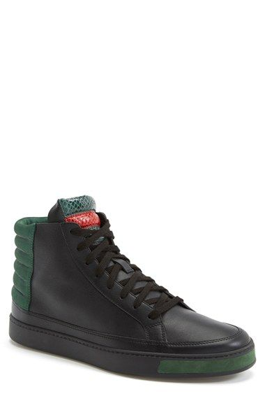 6319e63afa0 Gucci  Common  High-Top Sneaker (Men) available at  Nordstrom