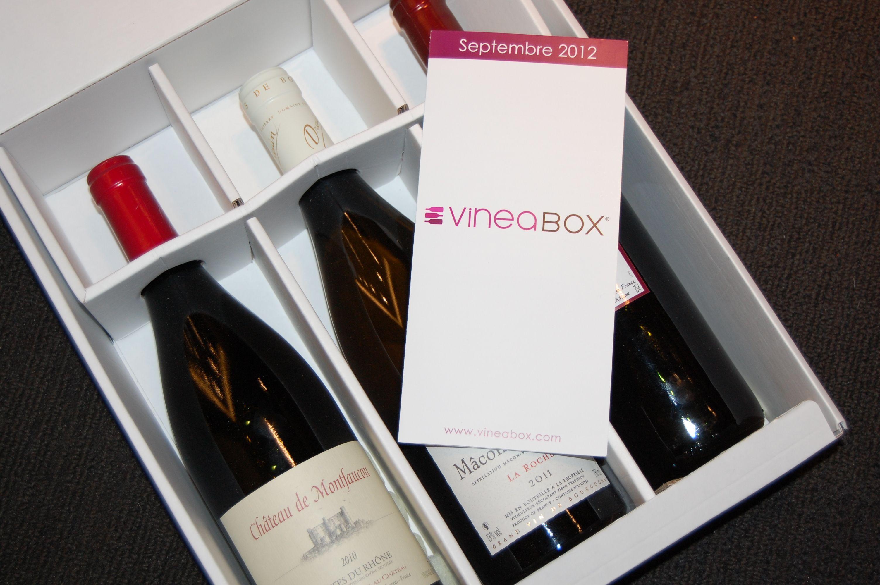 VineaBox Septembre 2012   http://www.vineabox.com