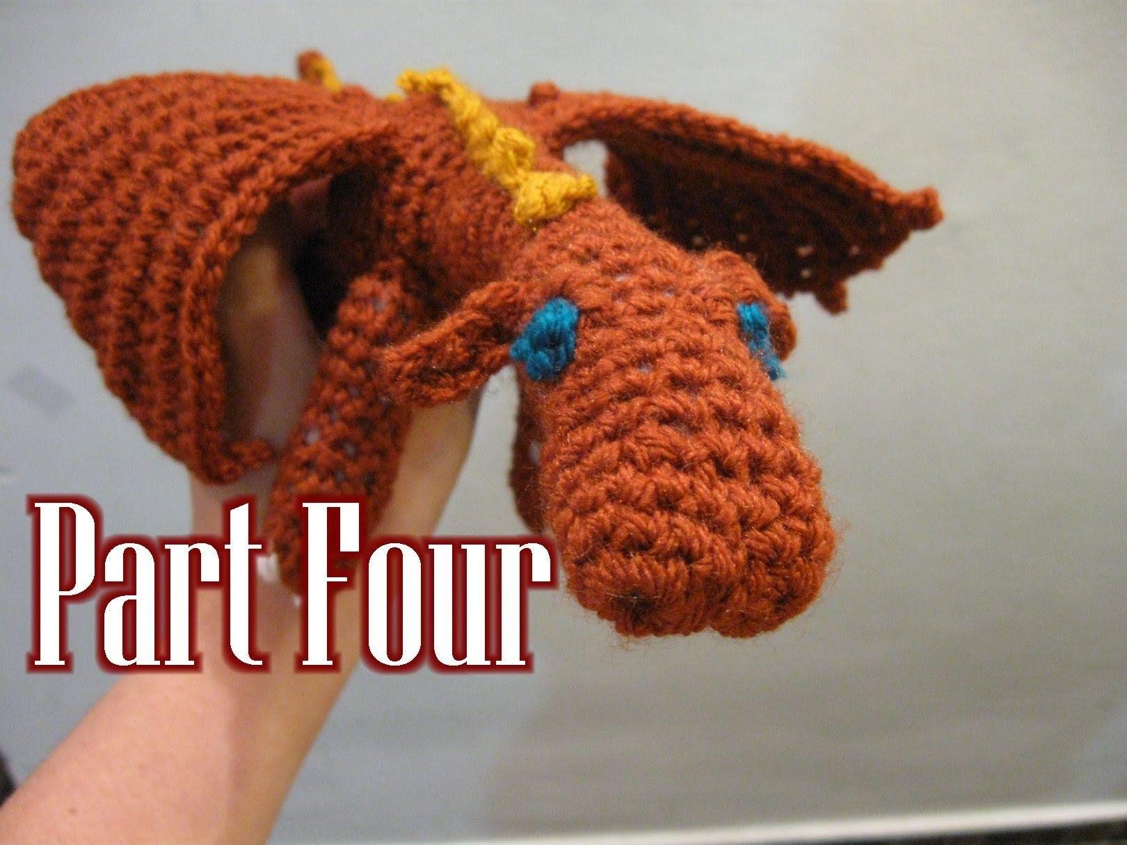 Amigurumi Tutorial Portugues : Crochet Amigurumi Fierce Dragon Tutorial pt 4 Amigurumi ...