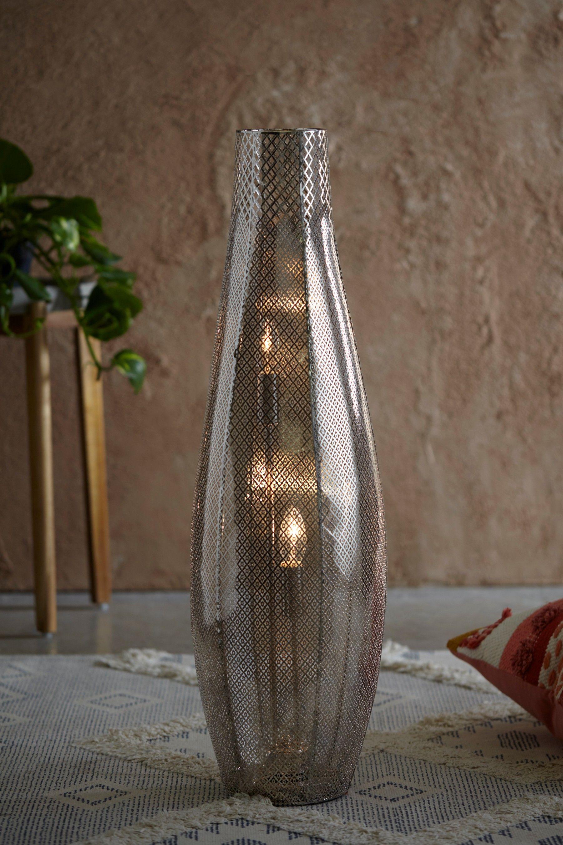 Next Tangier Floor Lamp Chrome Led Floor Lights Floor Lights Floor Lamp