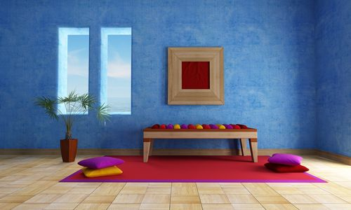 Pictures Of Meditation Rooms 20 soothing meditation room ideas for your inner zen | blue walls