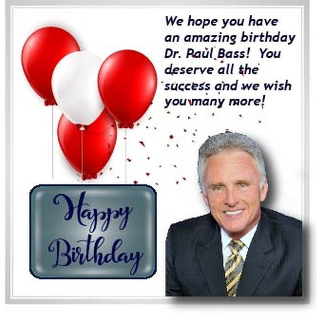 A Wonderful Birthday Greeting To One Of Fortune Managements