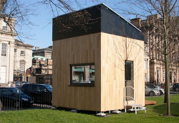 London 39 S 3 Meter Micro Cube House Produces More Energy