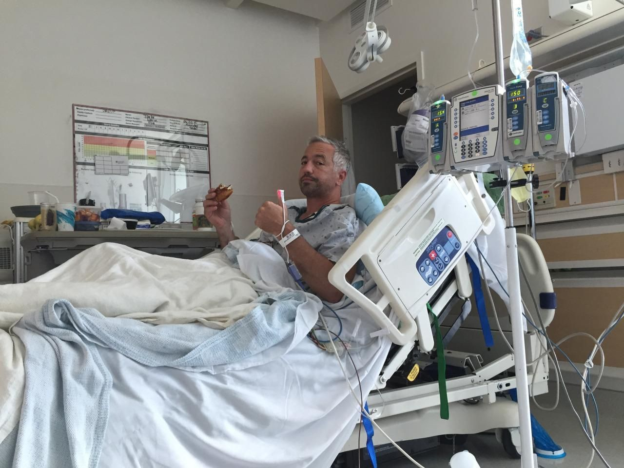 Doctor Nearly Dies From The Rare Condition He S Spent 15 Years Researching Emergency Medical Thrombosis Community Hospital