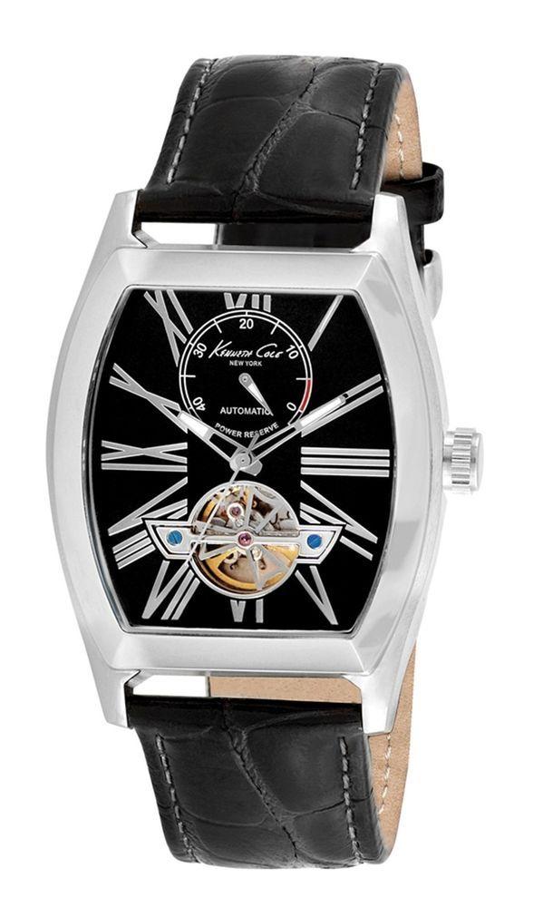 b0da88f17fe Kenneth Cole New York KC1982 Men s 21-Jewel automatic open heart movement  watch