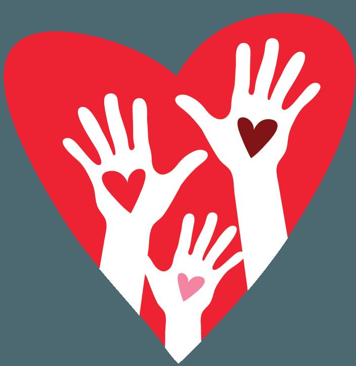 Free Logo Creator Make Heart Hands Logo Design Hand Logo Free Logo Creator Love Logo
