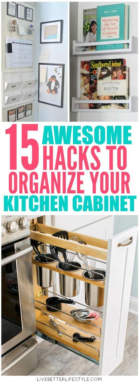 hacks to organized kitchen cabinet organization ideas on clever ideas for diy kitchen cabinet organization tips for organizers id=96409
