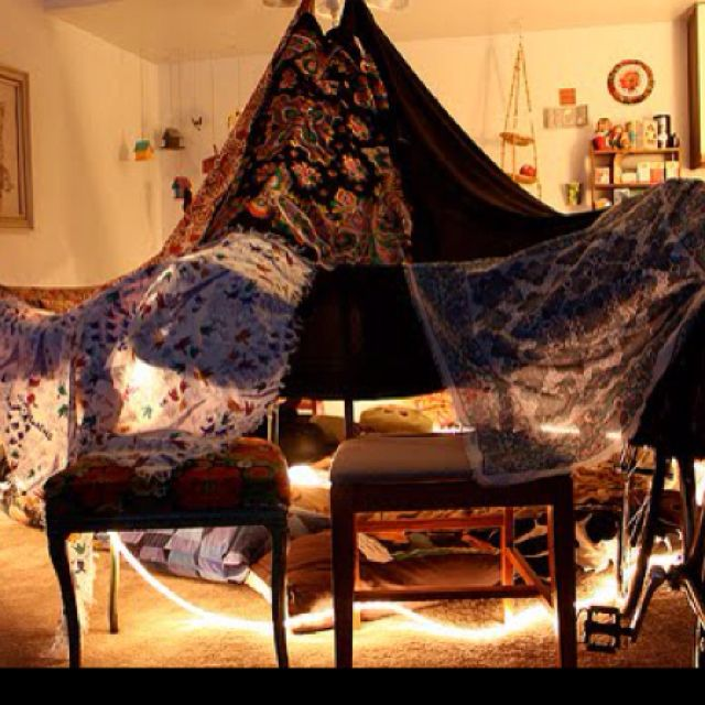 I miss making forts in the living room :(