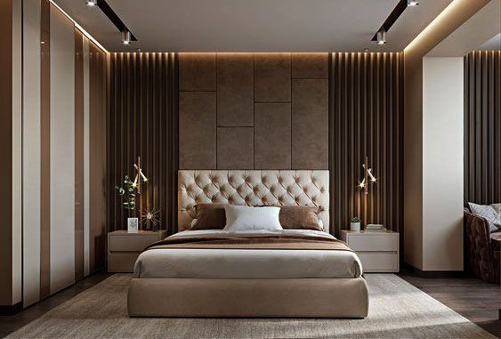 Glamorous And Exciting Hotel Bedroom Decor See More Luxurious Interior Design Details At Brabbucont Luxury Bedroom Master Bedroom Design Modern Bedroom Design