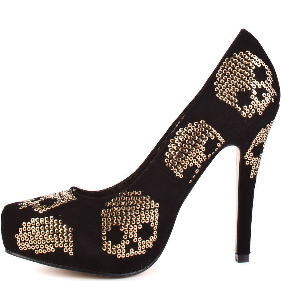 Iron Fist Pumps Gold Star Pointed Platform