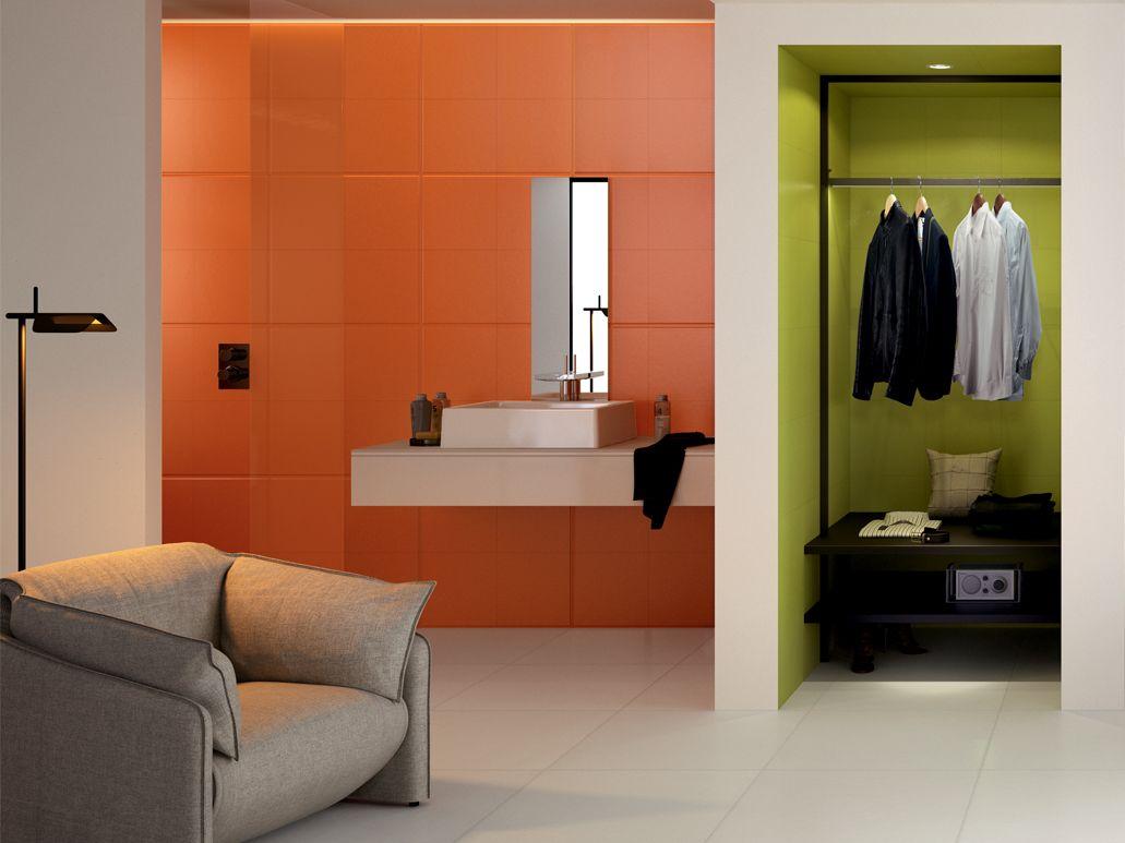 Carrelage mur salle de bain design by Phillipe S+ark   Salles de ...