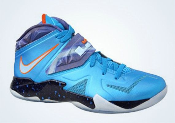 Free Shipping Only 69  Nike Zoom Soldier VII Galaxy Blue Hero Total Orange 0366bffec1