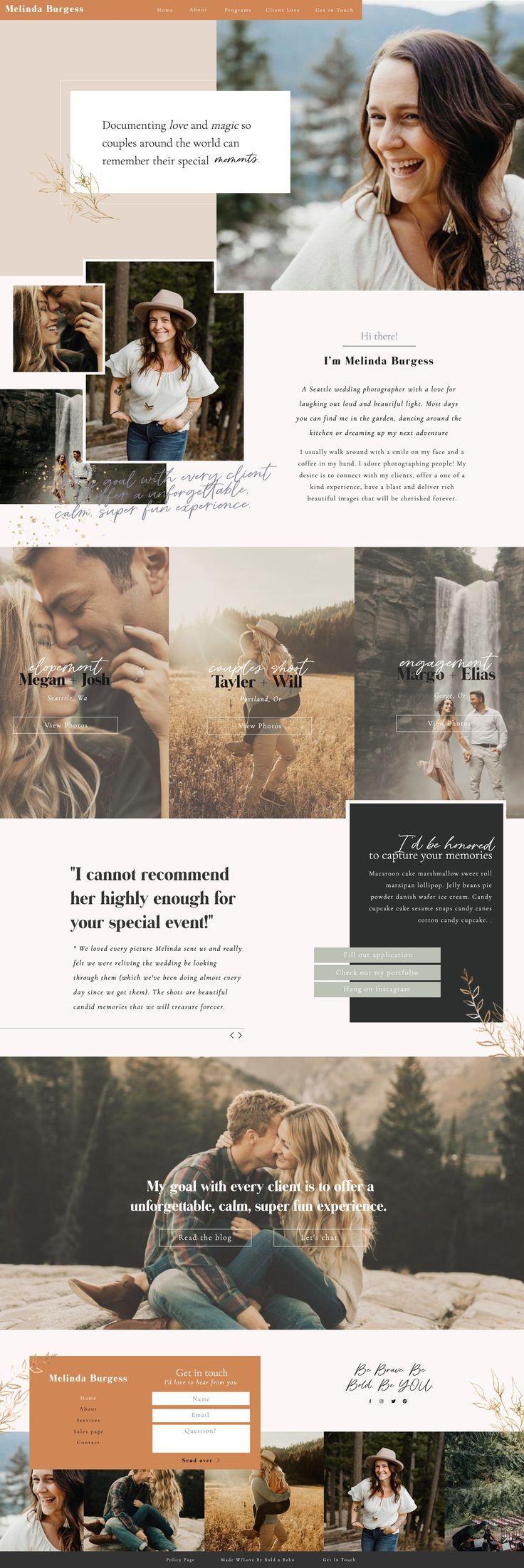 Showit Website Designer Becca Luna, Founder of Bold x Boho