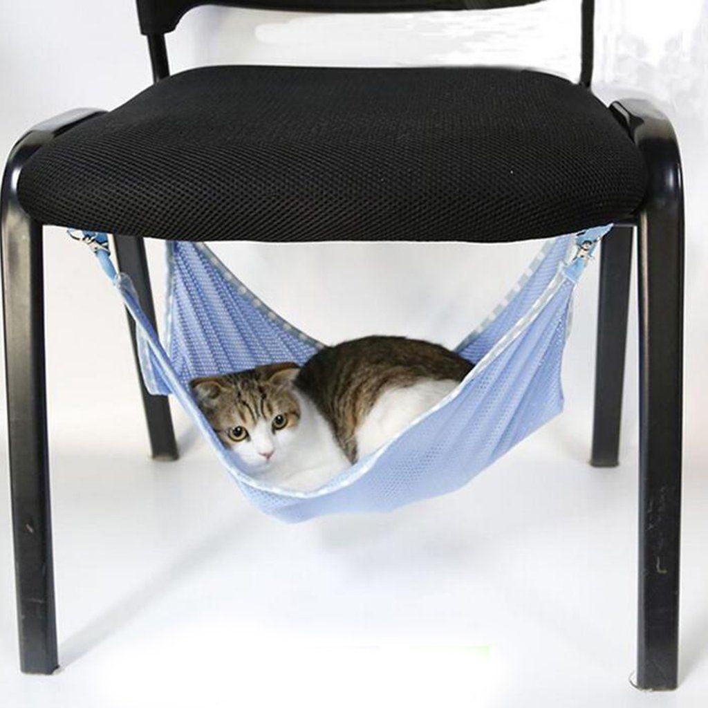 Cute Cat Hammock Bed Cat hammock, Pet hammock, Hammock
