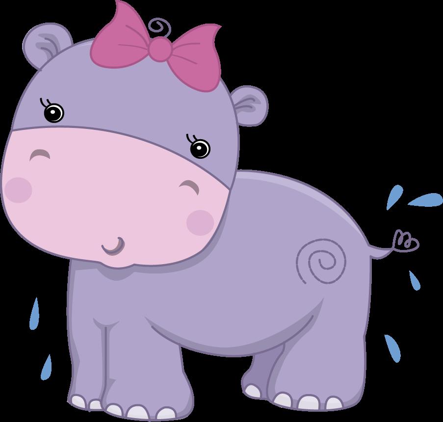 Pretty Pink Girly Jungle Animals - Pretty Pink Girly ...