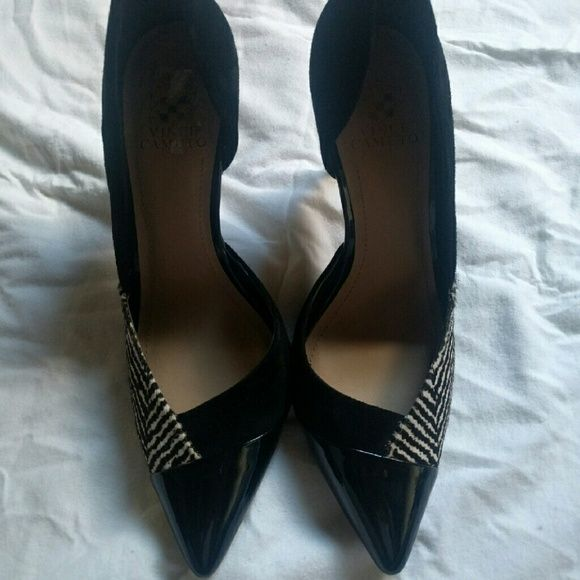 Best Vince Camuto Pumps Beautiful Leather Cow Hair Fur Patent 400 x 300