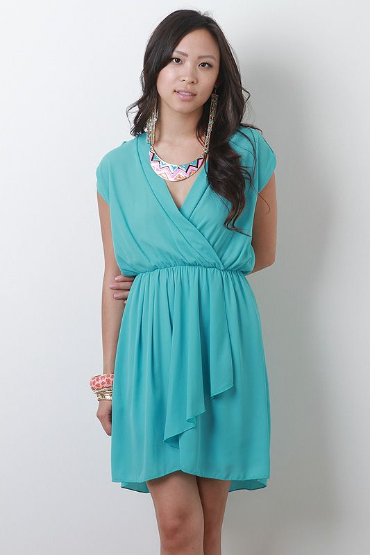 Love Aqua..Brunch Ready Dress