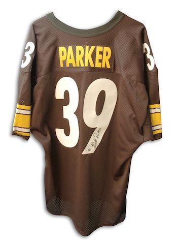 the latest 81e8d 33bd0 Autographed Willie Parker Steelers Jersey - APE COA ...