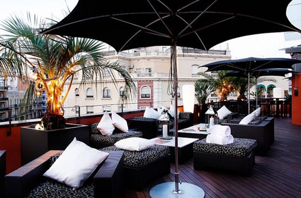 La Terraza De Hotel Villa Emilia Bars In Barcelona Best