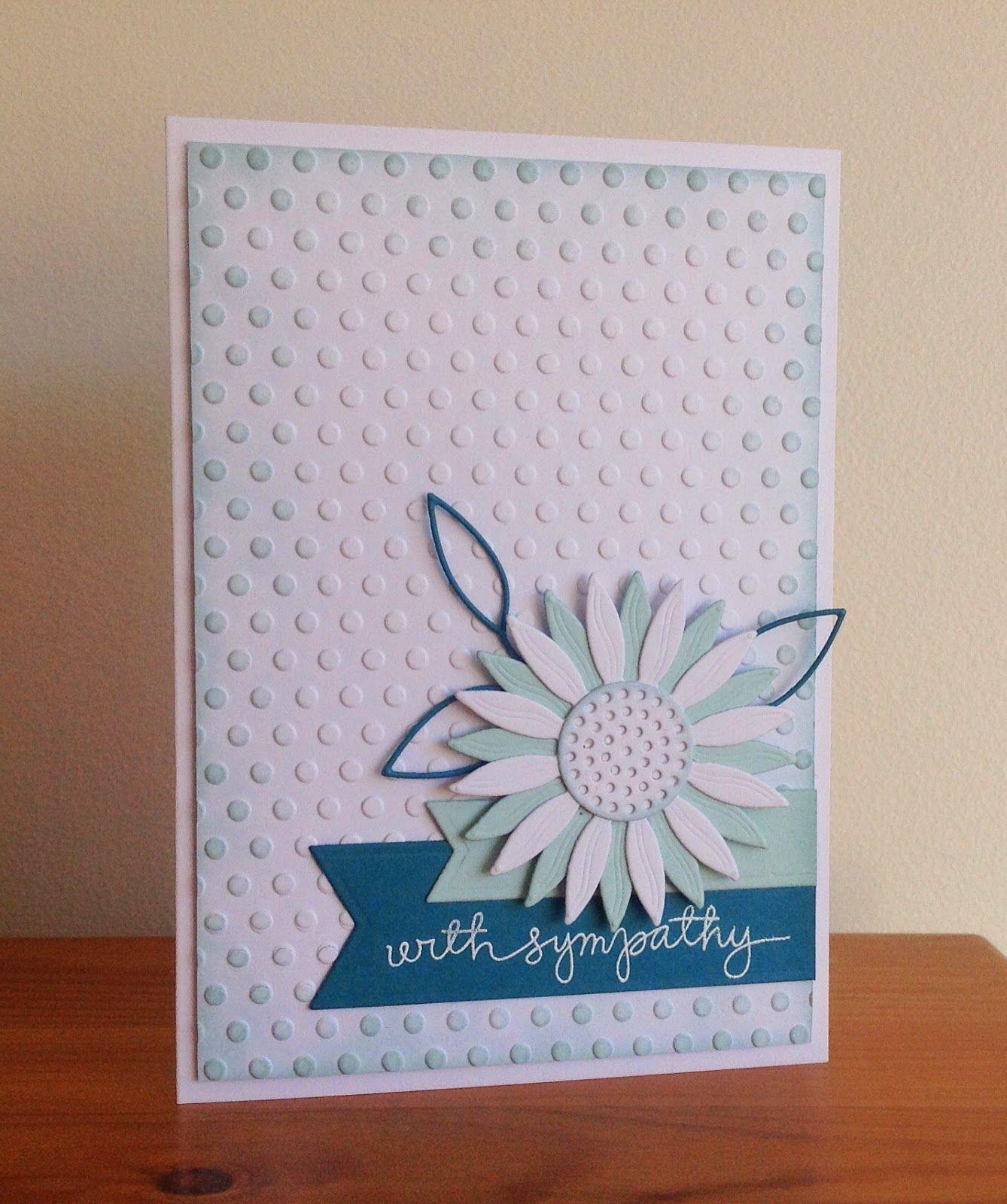 Beth's Little Card Blog: Sympathy card