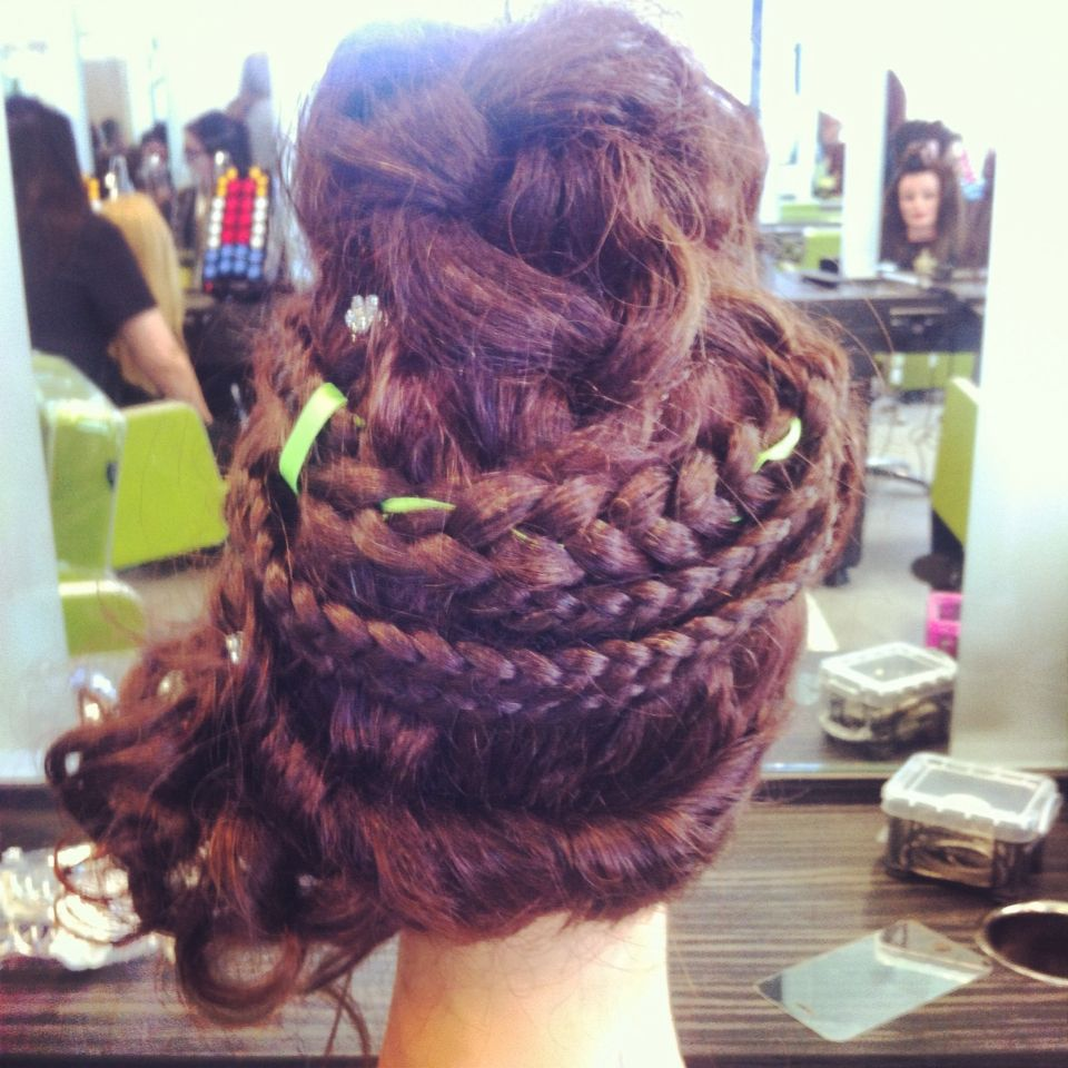French plait mohawk my hair x pinterest plaits and mohawks