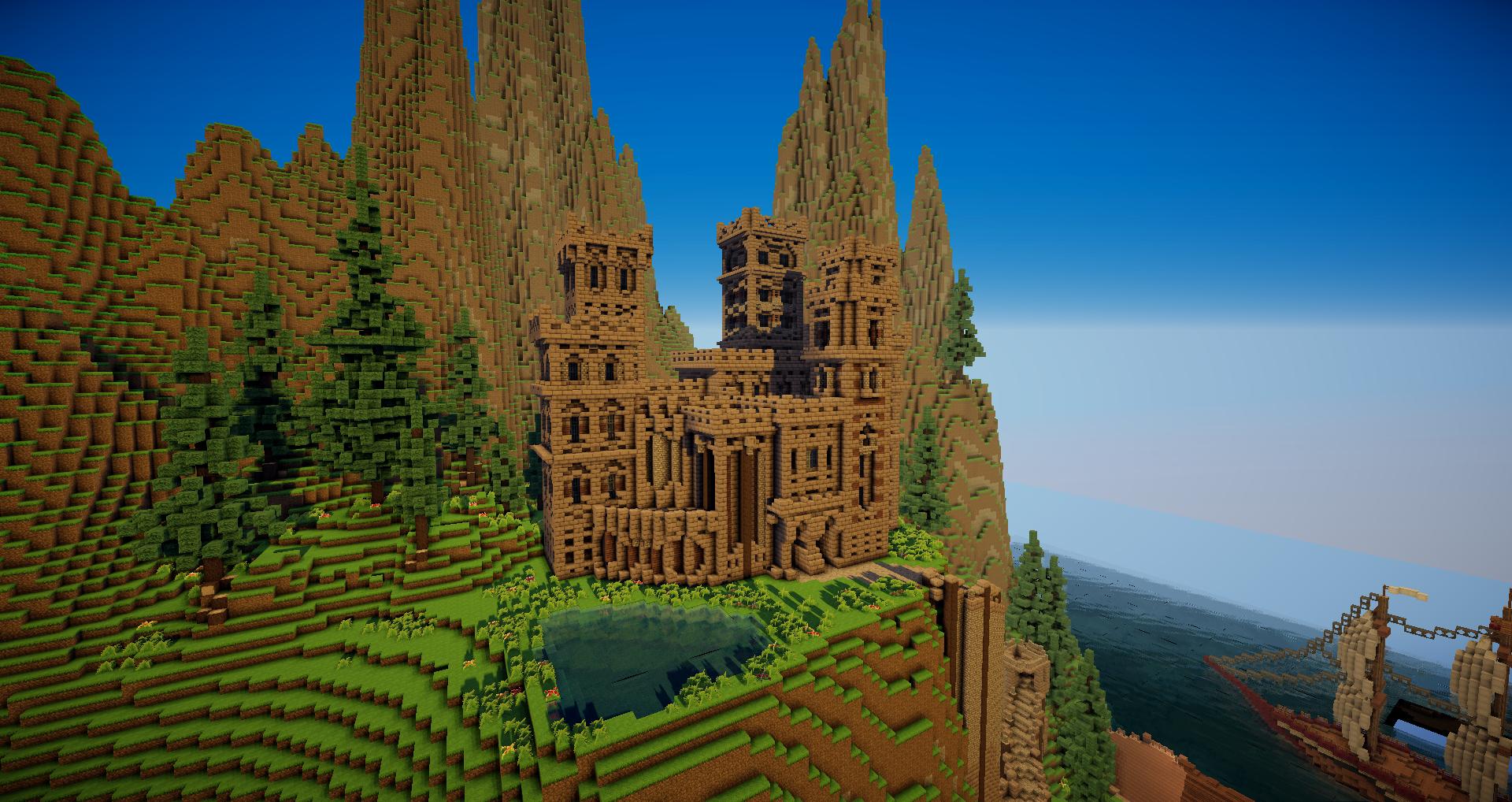 Minecraft Medieval Castle