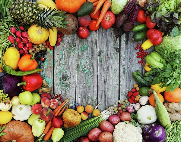 Healthy Food Background By Iuliia Malivanchuk | Food ...