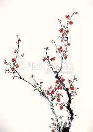 R sultats de recherche d 39 images pour dessin chinois fleur ink chinese painting cherry - Dessin arbre chinois ...