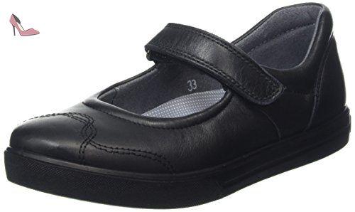 Ricosta Anthea, Mary Jane fille - Noir - Black (Black 40 EU - Chaussures  ricosta (*Partner-Link)
