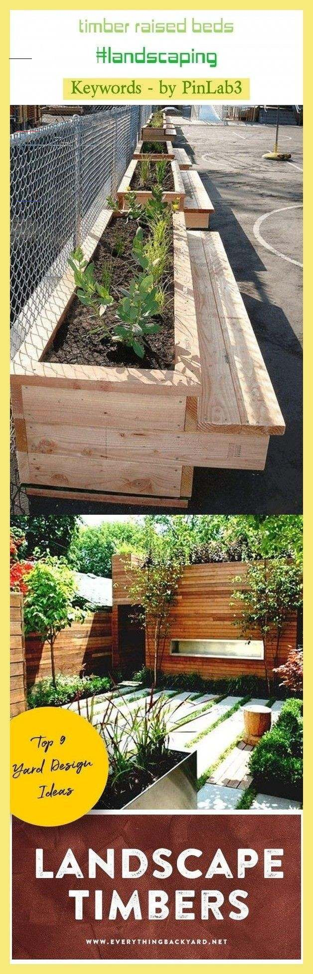 Timber Raised Beds Landscaping Gardens Raised Beds Bedroom