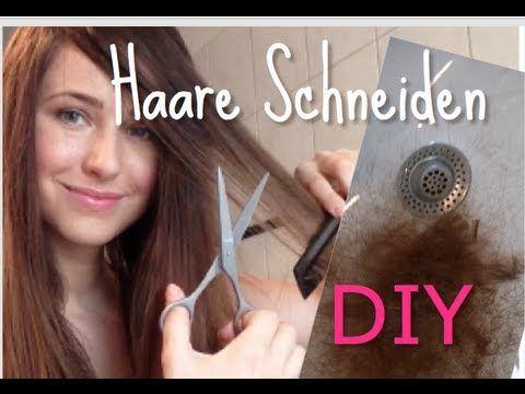 haare selbst schneiden i selbst stufen schneiden i diy tutorial youtube frisuren pinterest. Black Bedroom Furniture Sets. Home Design Ideas