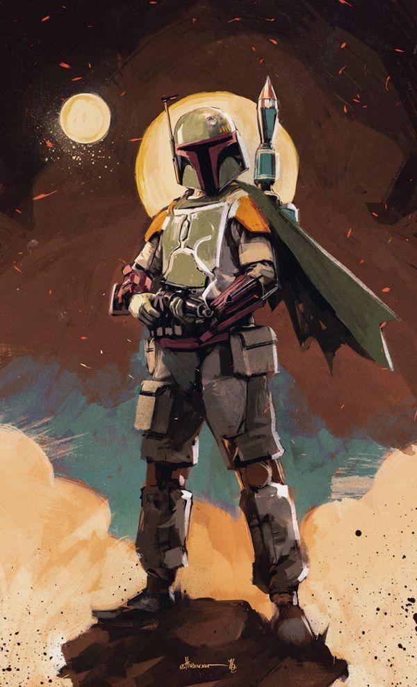 Starwars Themandalorian Bobafett Bountyhunter Stormtroopers Darthvader Theriseofskywalker Thelastje Boba Fett Art Star Wars Characters Star Wars Poster